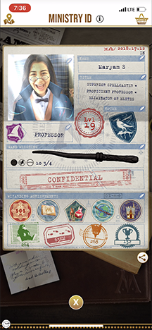 Harry Potter: Wizards Unite Character Creation
