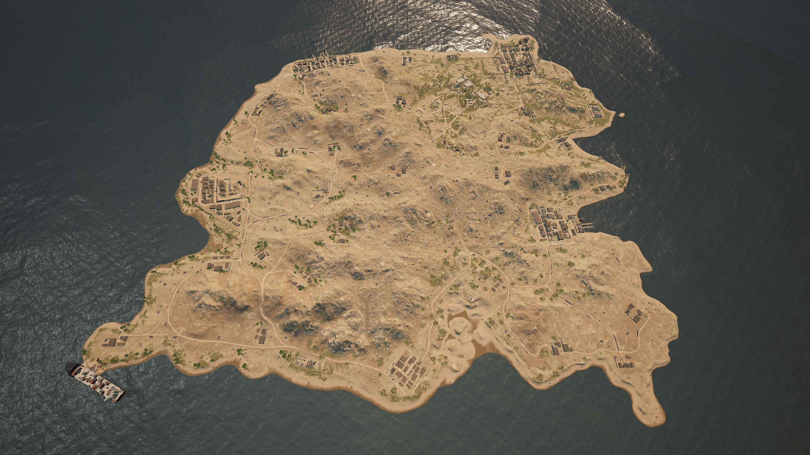 PUBG Season 6 - Aerial View of Karakin Map