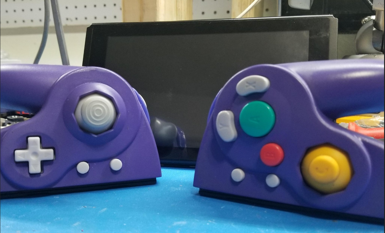Shank Mods GameCube Joy-Con mod