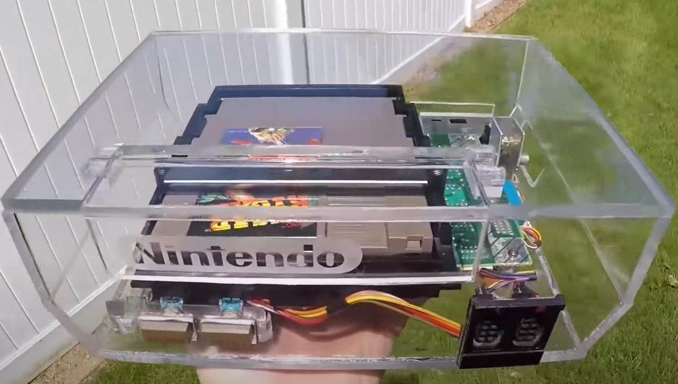 Nintendo Entertainment System (NES) Acrylic Build
