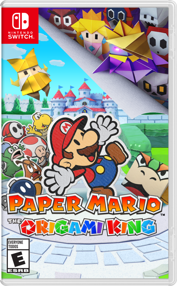 Paper Mario: The Origami King released July 17th, 2020