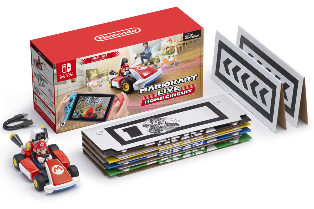 Mario Kart Live included items