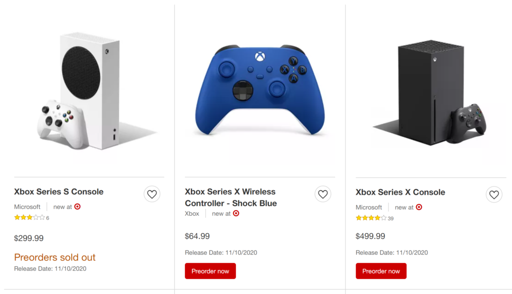 Possible additional stock of Xbox Series X and PlayStation 5  pre-orders