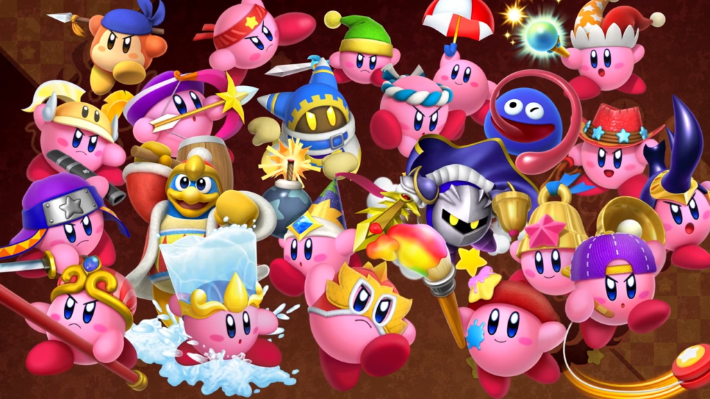 Kirby Fighters 2 - Kirby vs Kirby vs Kirby vs Kirby