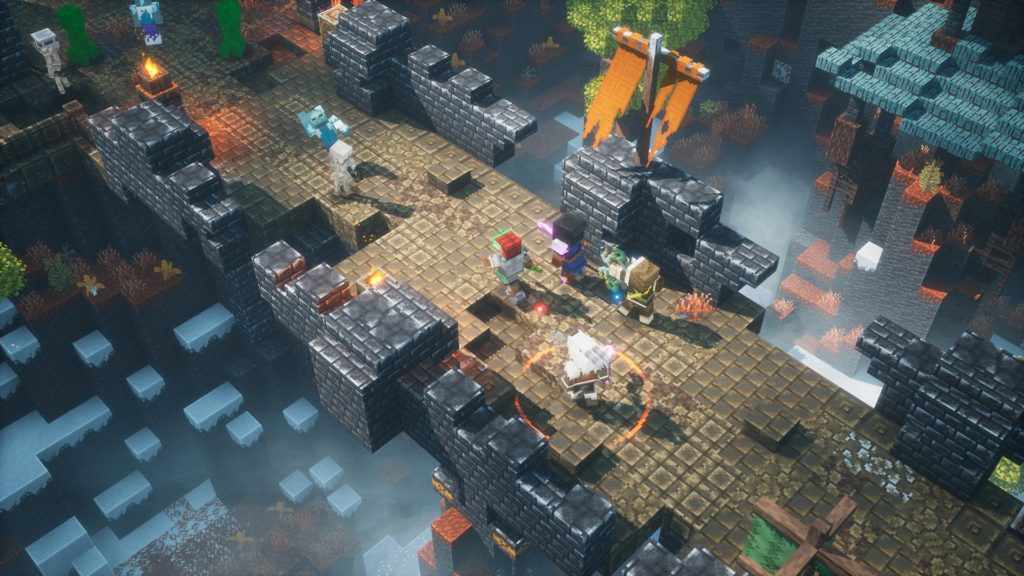 Minecraft Dungeons cross-platform play coming