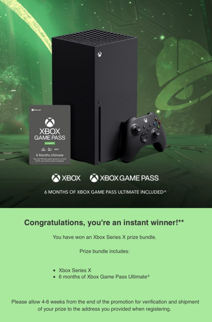 Taco Bell Xbox Series X Contest