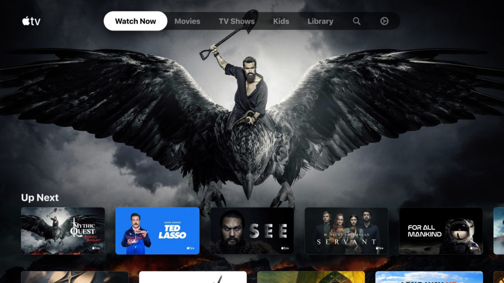 Apple TV App coming to Xbox and PlayStation systems.