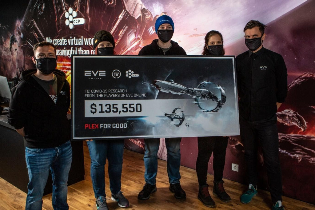 Eve Online Players Donate $135,550