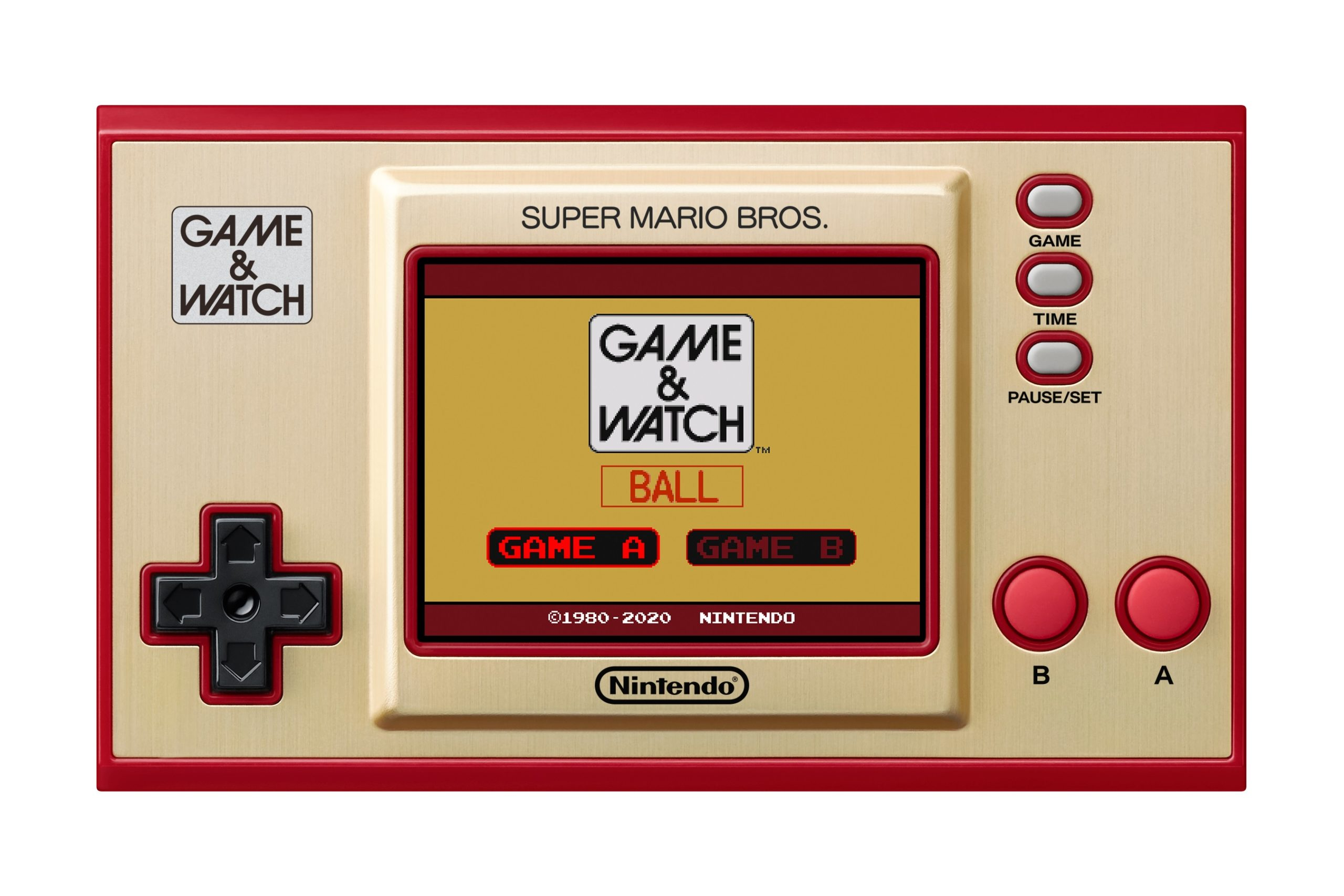 Game & Watch: Ball Game Selection
